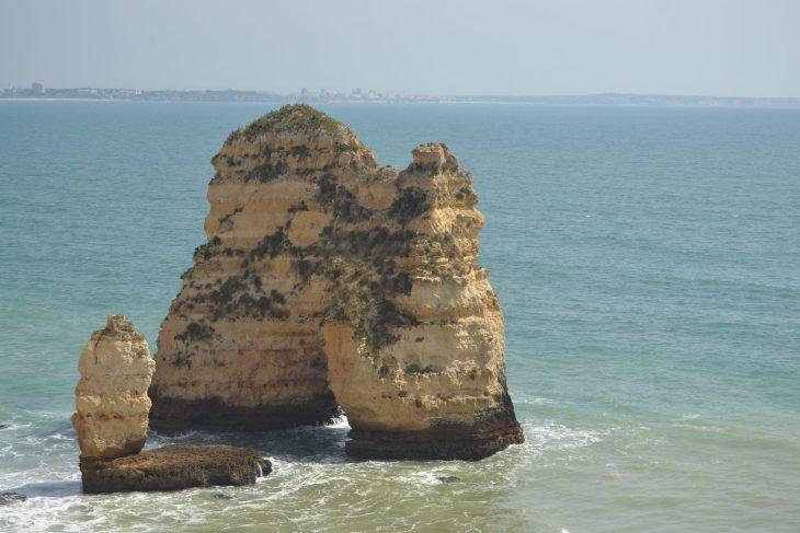 Ruta por el Algarve desde Lagos a Ponta da Piedade