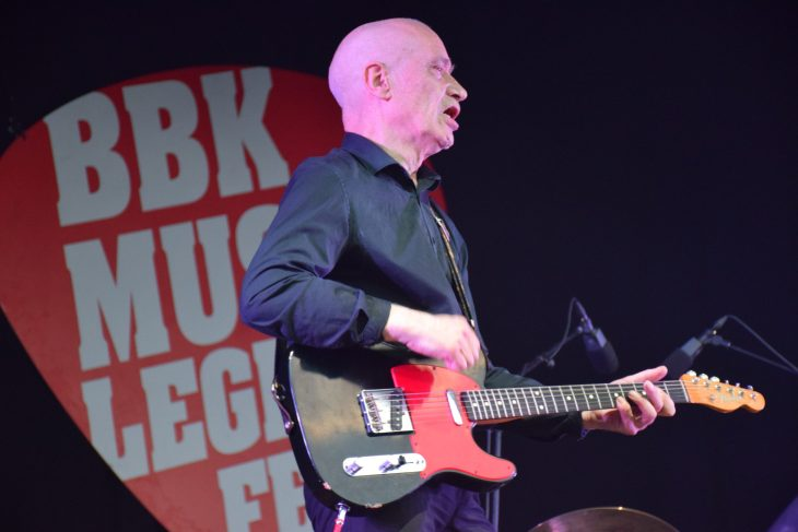 ilko Johnson en el BBK Music Legends Fest 2018