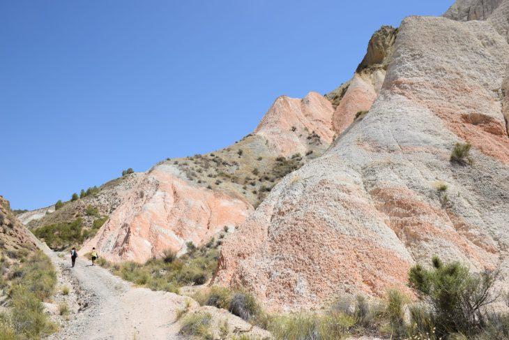 Formaciones geológicas en Cuevas del Campo