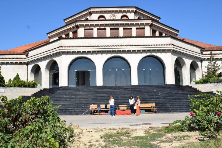 Edificio principal de Bodegas Campillo