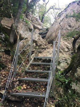Una roca en el Desfiladero de los Hocinos