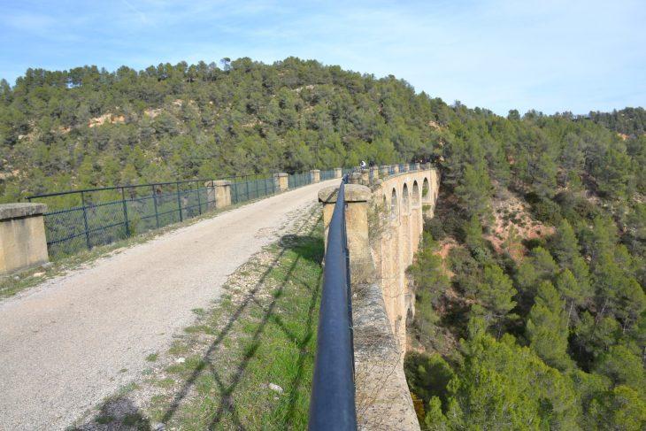 Viaducto en la Vía Verde de Terra Alta