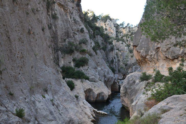 Desfiladero de La Fontcalda