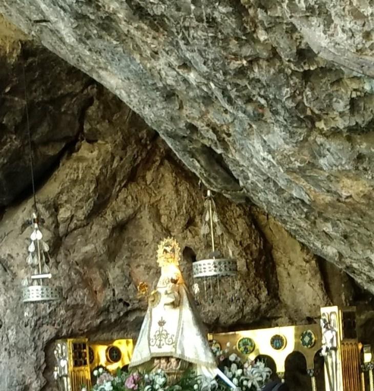 Virgen de Covadonga o La Santina