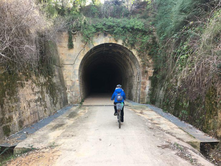 Ruta en bici por la Vía Verde de Terra Alta