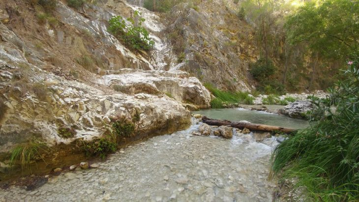 Pozas del Río Chillar