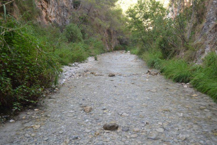 Río Chillar en Nerja