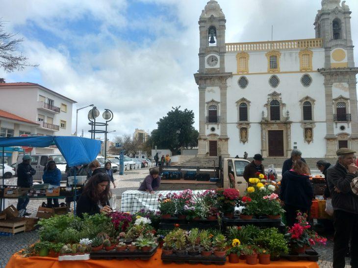 Mercado agrícola de Faro
