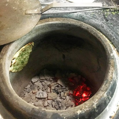 Naan en el Horno Tandoori