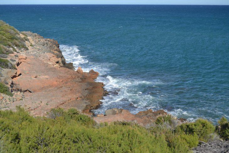 Paisaje de la costa