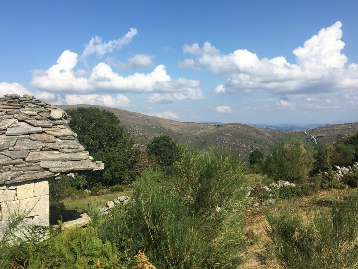 Cabaña de piedra