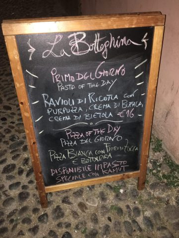 Restaurante La Botteghina de Alghero