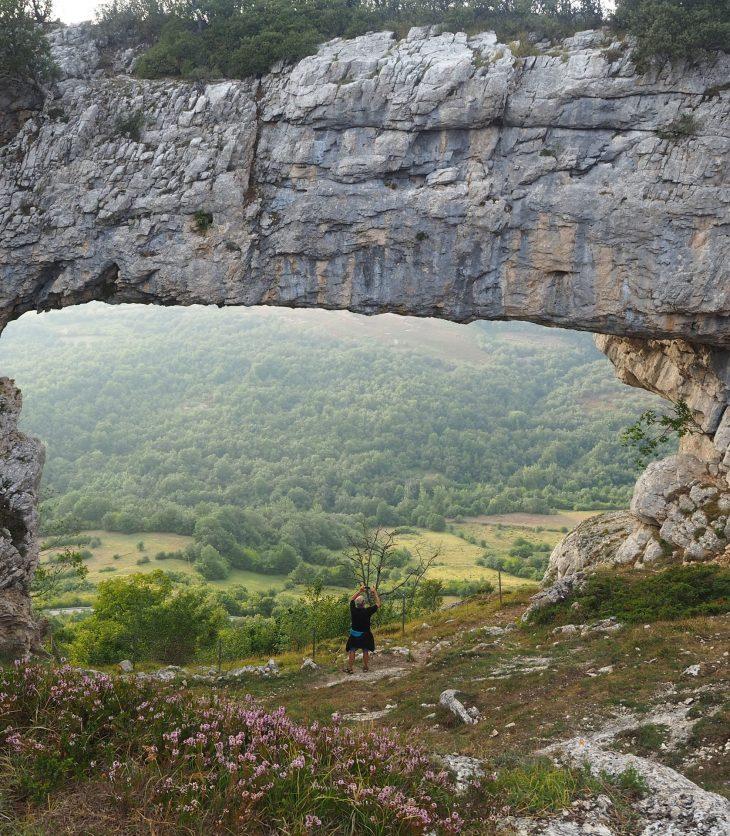 El Ventanón desde Ojo Guareña