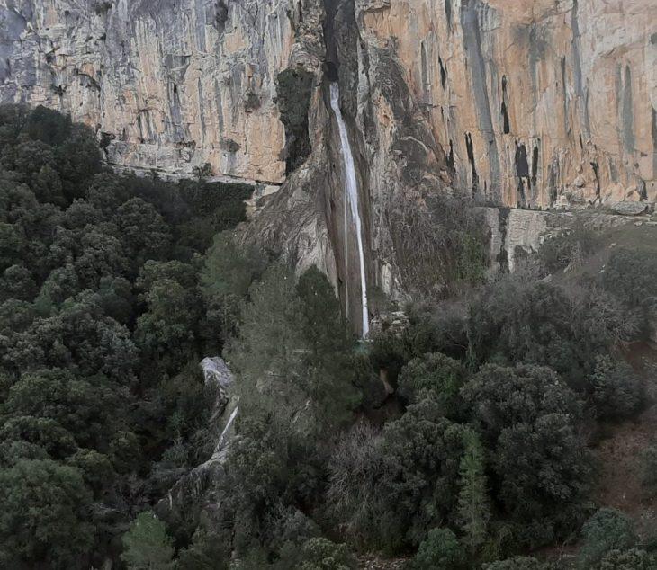 Cascada de Linarejos o Cola de Caballo