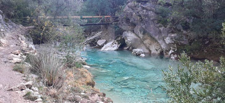 Puente sobre el río Borosa