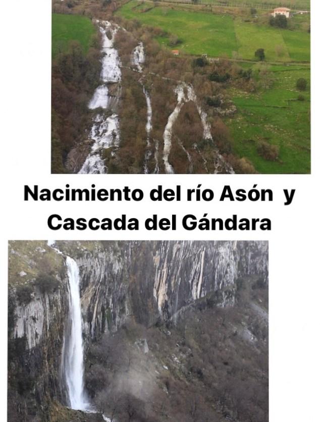 Nacimiento del río Asón y Cascada del Gándara