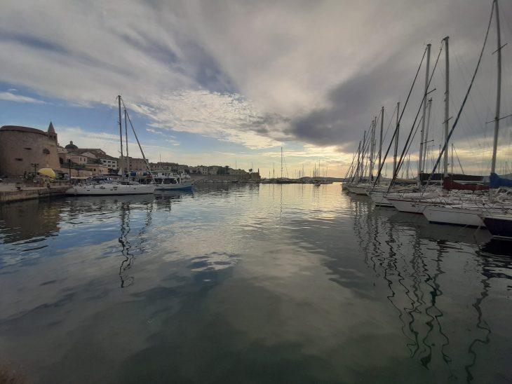 Puerto deportivo de Alguero