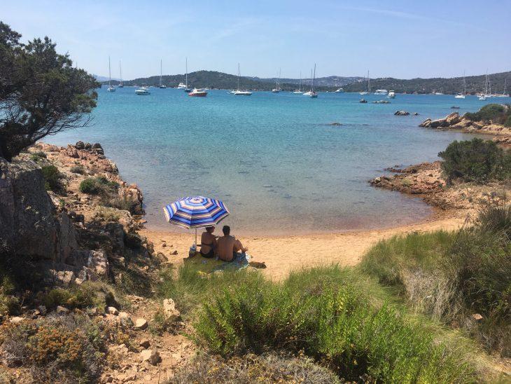 3 Playas de Isla Caprera en Cerdeña