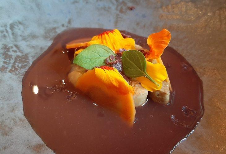 Foie gras escabechado