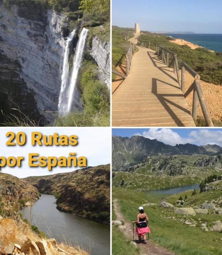 20 Rutas de senderismo por España