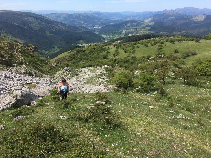Ruta del Ojo de Atxulaur desde Orozko