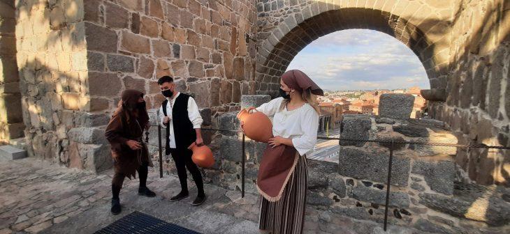 Visita teatralizada a la muralla de Ávila