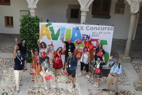 Comisión de Catas de Ávila en Tapas