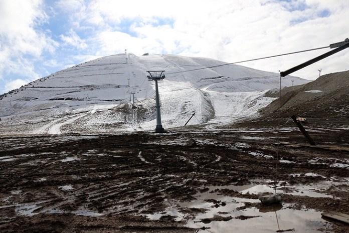 Maraş'ta kayak merkezi tanıtıldı
