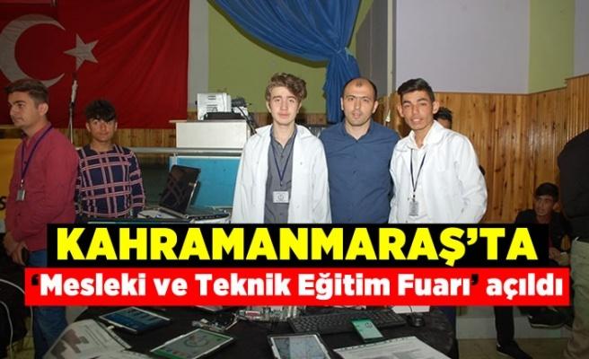 Afşin 'de Mesleki ve Teknik Eğitim Fuarı açıldı