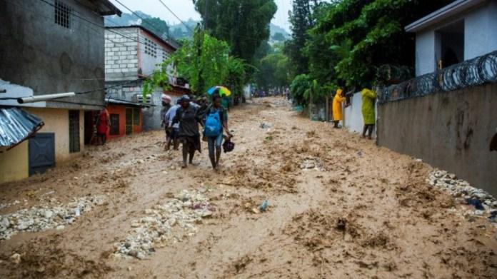 Laura fırtınası Haiti'de can aldı