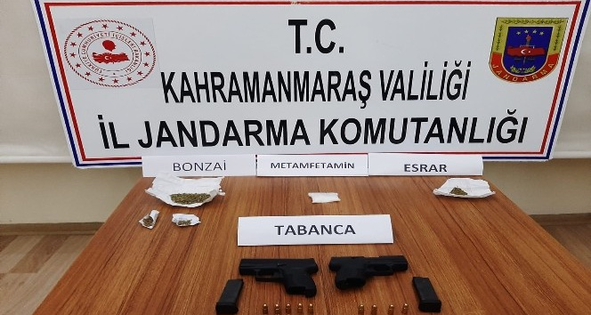 Kahramanmaraş'ta uyuşturucuya 9 gözaltı