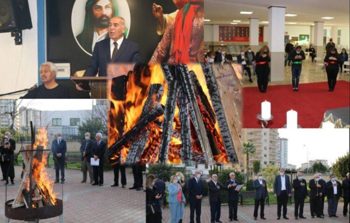 Mersin Cemevi'nde Newroz kutlandı