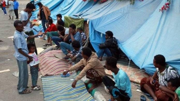 HRW onlarca göçmenin öldüğü kamp yangınında Husileri suçladı