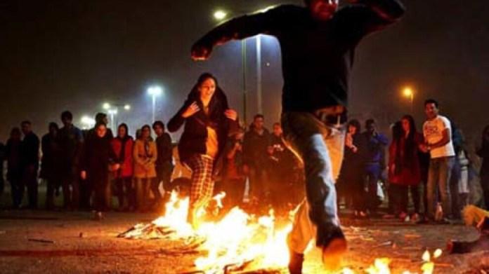İran'da Çarşema Sor kutlamaları: 9 ölü, 1900 yaralı