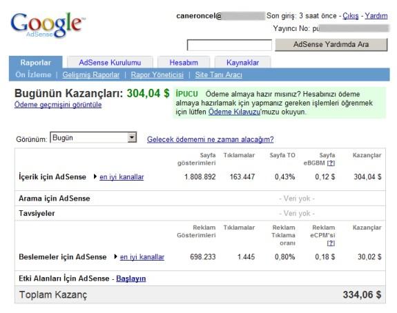 google-adsense-kazanc-raporu