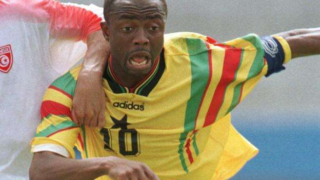 Abedi Pele writes: How Pape Diouf inspired me – and my sons – to greatness
