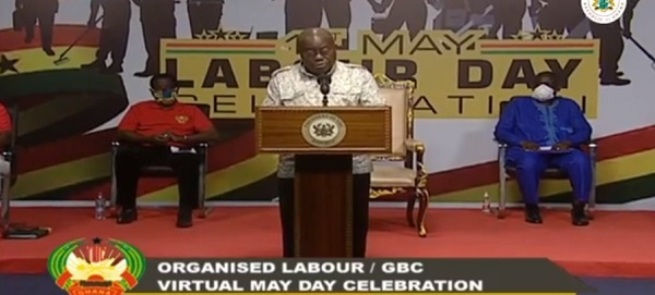 Border closure extended to May 31 – Akufo-Addo orders
