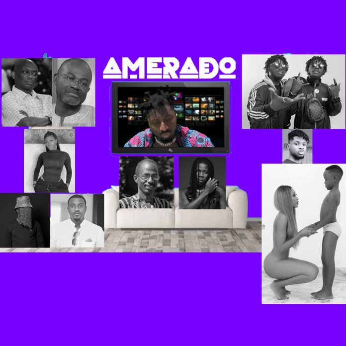Amerado Hits More Bars On His Trending Project After Taking Asem Down On Legals- Check Out Yeete Nsem Episode 7