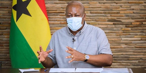 Mahama blames govt for unruly behaviour of 2020 WASSCE candidates