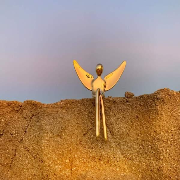 gold angel figure