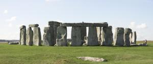 Stonehenge one open Salisbury plains