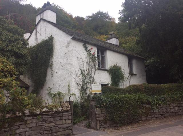 Dove Cottage - the home of William and Dorothy Wordsworth alongside the the splendid Wordsworth museum (not pictured)