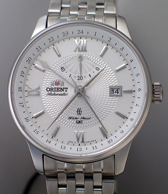 Orient GMT with hack and handwind - DJ02003W (1/6)
