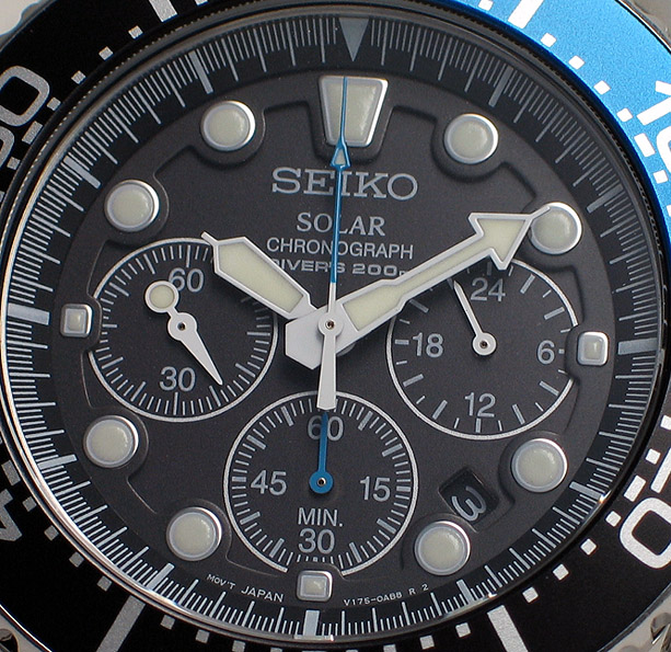 Seiko Solar Chronograph Diver - SSC017P (2/6)
