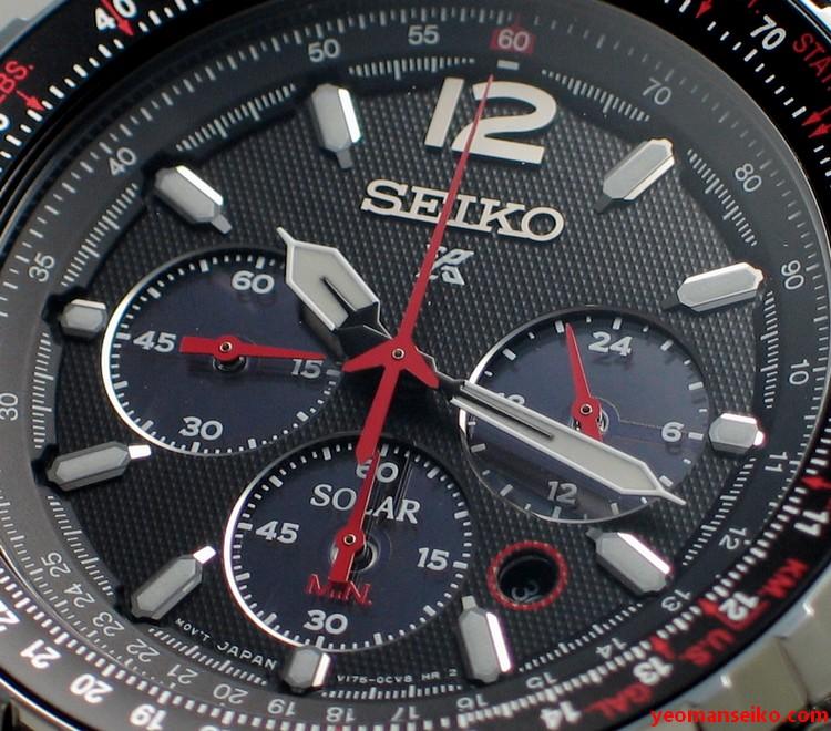 Seiko Prospex Solar Chronograph - SSC261P (3/6)