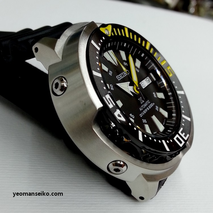 New Seiko 200m Shrouded Divers - SRP639K and SRP641K (4/6)