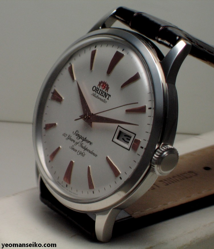 A Pair of SG50 Limited Edition Orient Bambinos by Big Time (5/6)