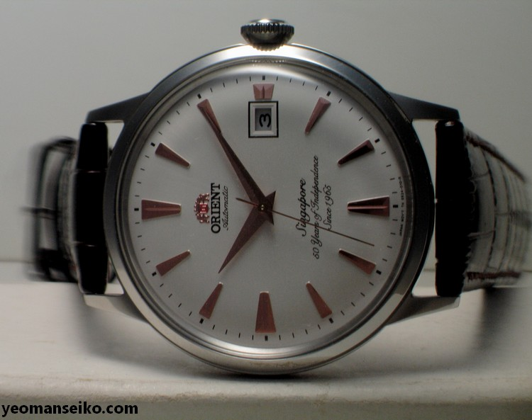 A Pair of SG50 Limited Edition Orient Bambinos by Big Time (6/6)