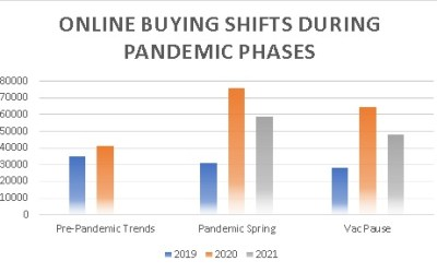 Online Trends During the Spring Vaccine 'Pandemic Break' – Lessons Learnt