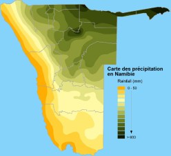 namibia_average_precitipation
